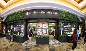 Nhiều thương hiệu thời trang cao cấp tại In Style. Hong Kong