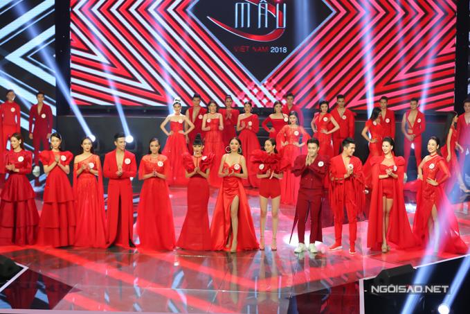 Trải qua các phần thi trình diễn catwalk với các bộ sưu tập áo dài, bikini, váy dạ hội, ban giám khảo đã chọn ra 12 thí sinh tham gia vòng ứng xử.