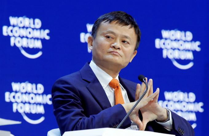 Jack Ma sẽ rời ghế chủ tịch Alibaba khi tròn 55 tuổi. Ảnh:Reuters.