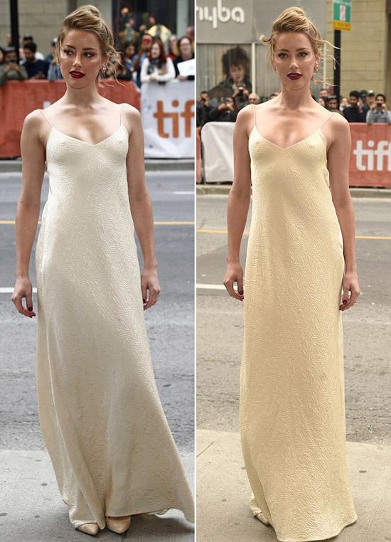 Cô đào Hollywood diện váy hai dây sexy, không bra.