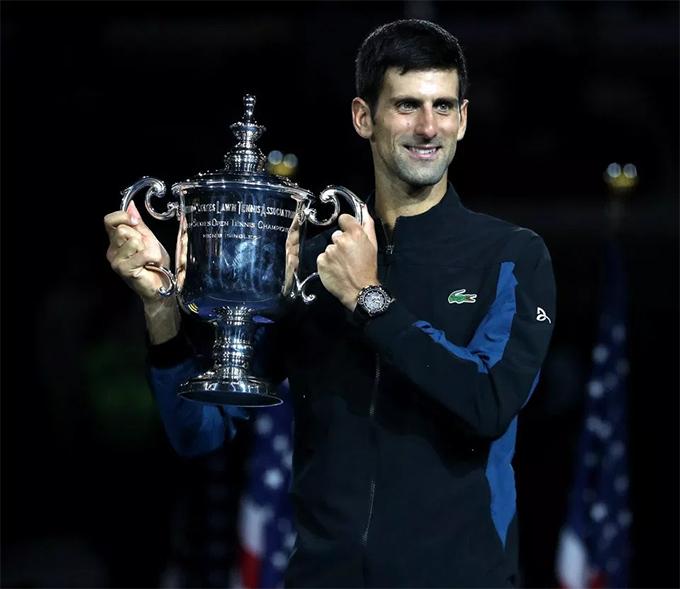 Đây là chức vô địch Mỹ mở rộng lần thứ ba của Djokovic sau hai lần đăng quang vào các năm 2011 và 2015.
