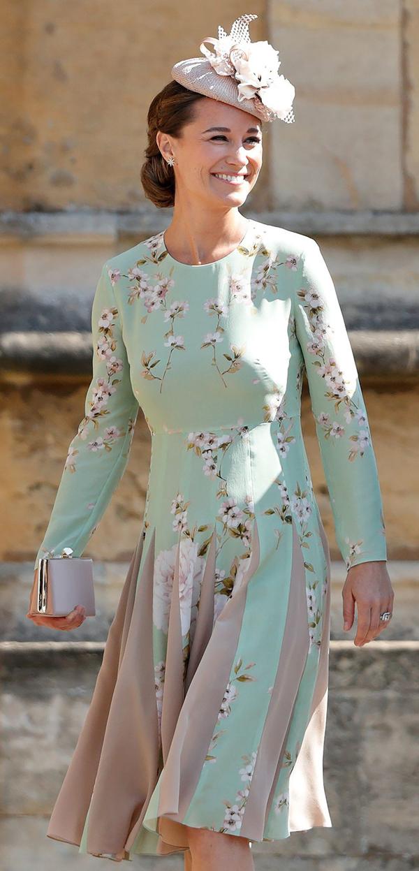 Pippa Middleton ghi điểm mỗi lần xuất hiện với vóc dáng thon gọn và tươi tắn.