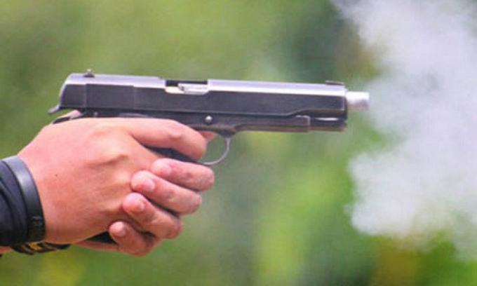 Để giải cứu đồng bọn, nam thanh niên đã nổ súng sau hỗn chiến. Ảnh minh họa