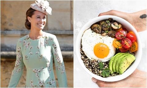 Chế độ dinh dưỡng giúp em gái Công nương Kate giữ dáng không cần ăn kiêng