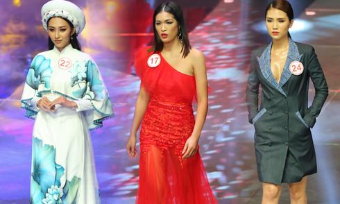 'Siêu mẫu Việt Nam' tôn vinh vẻ đẹp của lụa