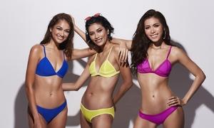 Minh Tú mặc bikini đọ dáng cùng hai á quân Asia's Next Top Model