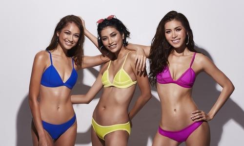 """Minh Tú mặc bikini đọ dáng cùng hai á quân Asia""""s Next Top Model"""