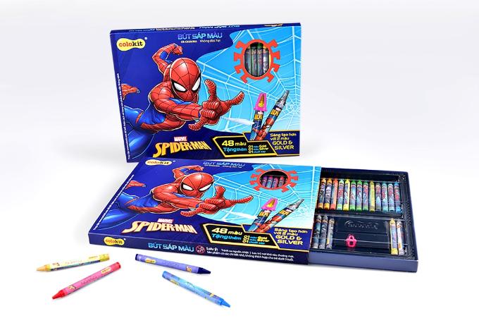 Truyền cảm hứng học tập cho bé với đồ dùng học tập Spider-Man