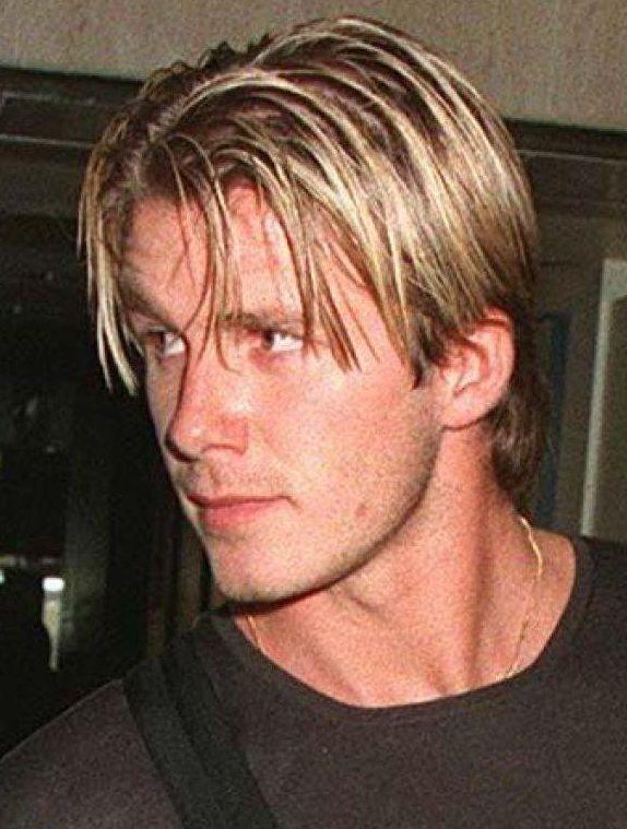Những kiểu tóc thời 'trẻ trâu' của Becks