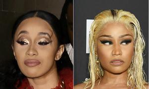 Nicki Minaj dọa giết Cardi B nếu còn tiếp tục gây gổ