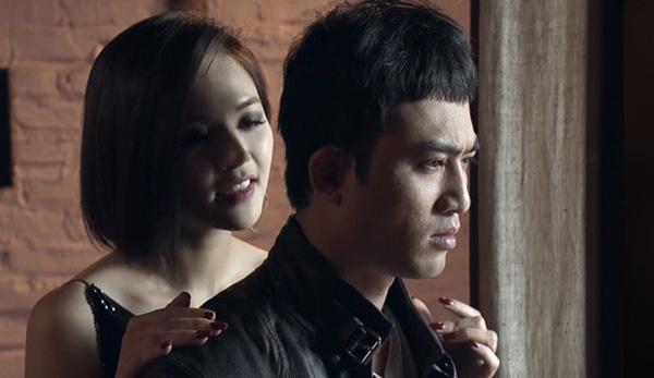 Thu Quỳnh và Quốc Đam trong phim Quỳnh búp bê.