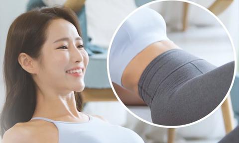 HLV Hàn Quốc hướng dẫn 6 động tác chỉ cần nằm tập cũng giảm mỡ bụng