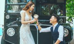 Mỹ nam TVB Trần Triển Bằng hé lộ ảnh cưới