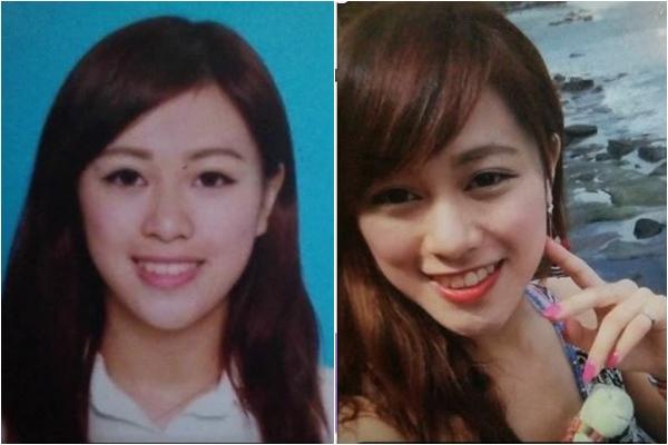 Trước khi phẫu thuật thẩm mỹ, Berry Ng có diện mạo rấtxinh xắn.