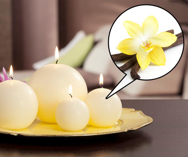 Thắp nến có hương vani Giống như việc ngửi mùi táo và chuối, nến có hương vani cũng giúp giảm cảm giác thèm ăn.