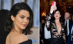 Kendall Jenner 'thả rông' vòng một đến dự sự kiện