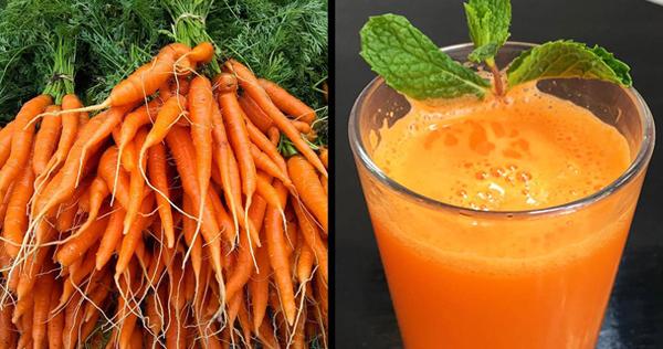 Cà rốt Cà rốt rất giàu chất chống oxy hóa và vitamin giúp giải độc trong cơ thể. Nhờ hàm lượng kali cao, cà rốt còngiúp cân bằnglượng cholesterol và lượng đường trong máu.