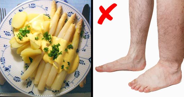 Măng tây Hàm lượng kali cao trong măng tây giúp ngăn ngừa sự giữ nước không cần thiết của cơ thể.