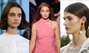 8 kiểu tóc đơn giản, dễ bắt chước từ sàn diễn thời trang