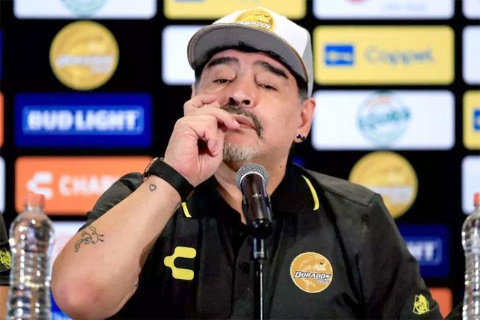 Trước đó trong buổi họp báo ra mắt CLB, Maradona có nhiều chia sẻ từ tận đáy lòng với CĐV Mexico.