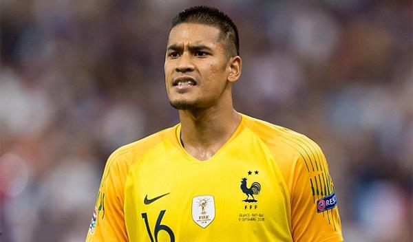 Alphonse Areola cũng là thành viên tuyển Pháp vô địch World CUp 2018 nhưng anh chỉ là sự lựa chọn thứ ba ở vị trí thủ môn sauHugo Lloris vàSteve Mandanda. Ảnh: AFP.