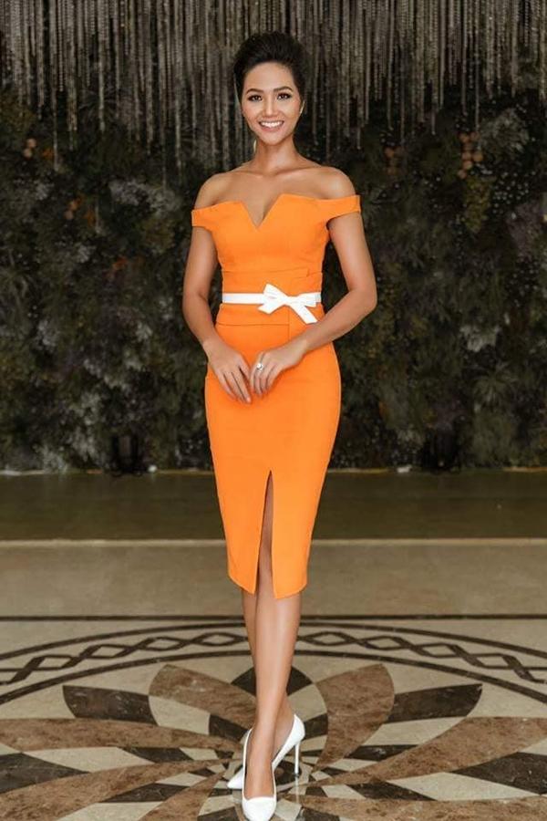 Hoa hậu HHen Niê nhiều lần mặc xấu vì chọn nhầm váy áo, kiểu tóc - 7