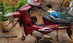 Tên trộm chỉ lấy hai bánh xe máy ở Đăk Lăk