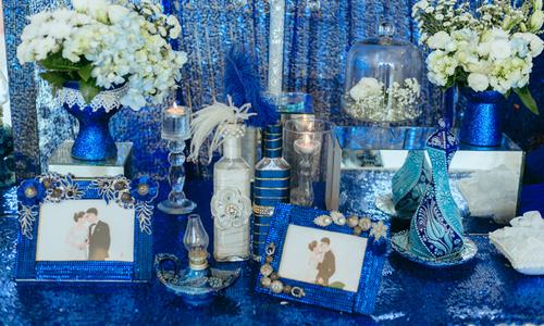 Tiệc cưới chủ đề Aladin và cây đèn thần của uyên ương Hà Nội