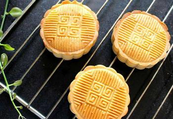Tự làm bánh nướng nhân đậu xanh thơm bùi đón Trung thu - 5