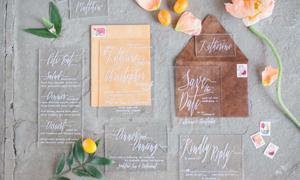 Những gợi ý sử dụng chất liệu mica trong đám cưới 2018