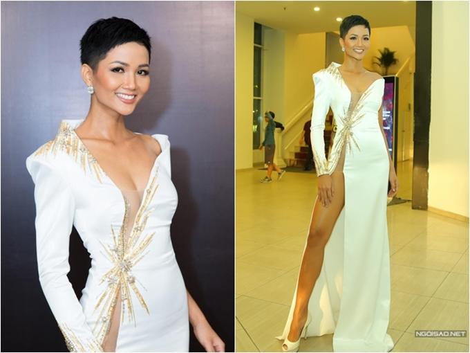 Những lần mặc xấu của Hoa hậu HHen Niê - 3