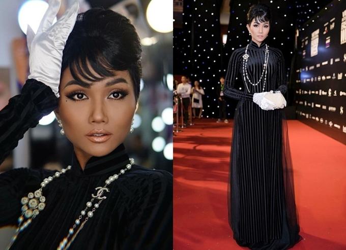 Những lần mặc xấu của Hoa hậu HHen Niê - 2
