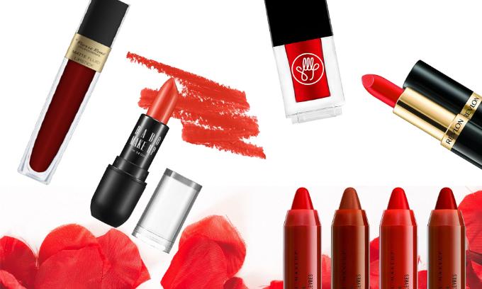 Son đỏ là một trongnhững thỏi son môi phải cócủatín đồ làm đẹp. Những dòng son đỏ quyến rũ ưu đãi đến 50% tại Store Ngôi sao cho bạn gái rạng rỡ, nổi bật trong trời thu.
