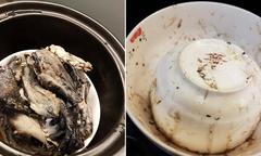 Mẹ Singapore bày cách nấu nước cốt gà đen trị bệnh cảm lạnh giao mùa