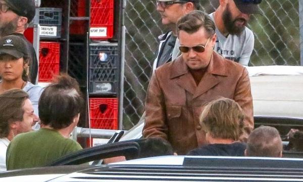 Leonardo DiCapriocũng có mặt tại trường quay.