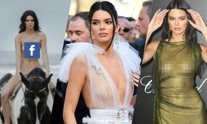 Những lần Kendall Jenner hở bạo không kém bộ ảnh nude cưỡi ngựa