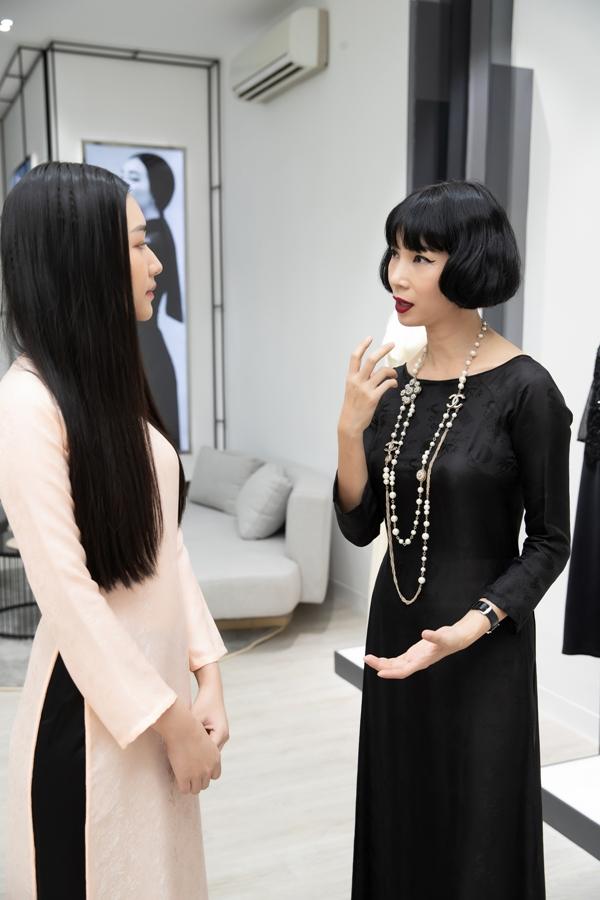 Xuân Lan cùng nàng thơ xứ Huế diện áo dài, hóa thiếu nữ Sài Gòn xưa - 3