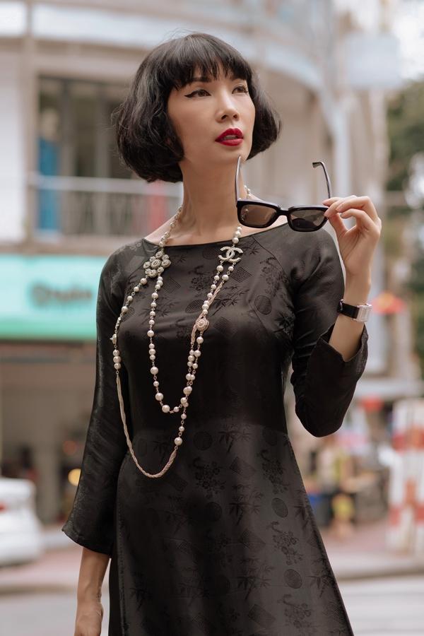 Xuân Lan cùng nàng thơ xứ Huế diện áo dài, hóa thiếu nữ Sài Gòn xưa - 6