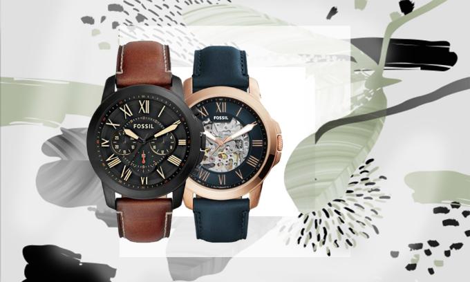 Giảm 40% các mẫu đồng hồ nam Fossil nhập khẩu và phân phối chính hãng từ Fossil Group
