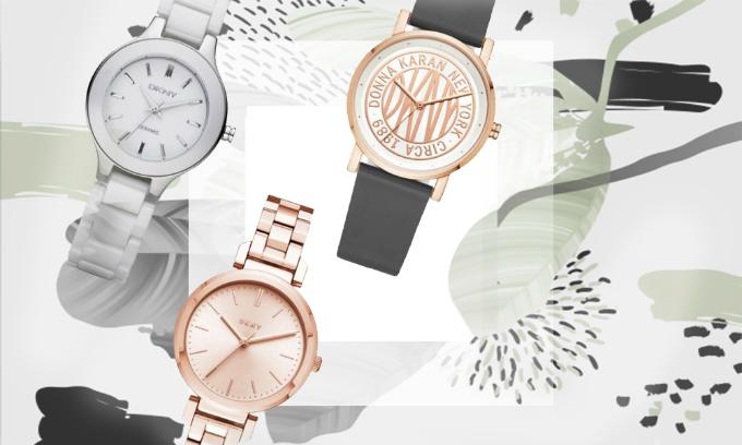 Giảm 40% cho các mẫu đồng hồ nữ DKNYnhập khẩu và phân phối chính hãng, bảo hành quốc tế cho máy trong 2 năm.