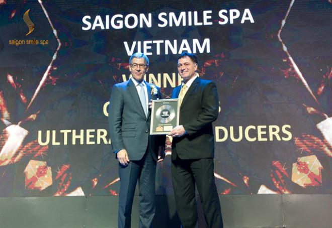 Trong Đại hội quốc tế về da liễu và thẩm mỹ 2018 (IMCAS) diễn ra tại Thái Lan, Saigon Smile Spa vượt qua những tiêu chí khắt khe trở thành Hệ thống Medical Spa Top 1 châu Á - Thái Bình Dương.