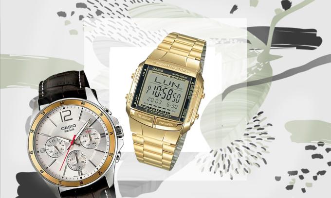 Đồng hồ Casio nam nữ mẫu mã đa dạng giảm đến 22%