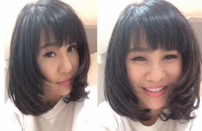 Nhiều ý kiến cho rằng hành động cắt tóc ngắn của nữ diễn viên hài như thay cho lời muốn nói trước thông tin Kiều Minh Tuấn công khai yêu An Nguy.