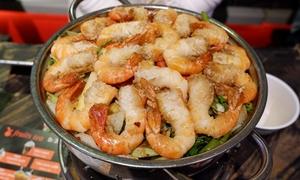 Chiều chủ nhật thưởng thức lẩu tôm càng đầy ụ ở Sài Gòn