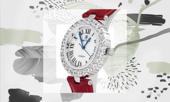 Đồng hồ nữchính hãng Royal Crown giảm đến 50% kèm nhiều combo 2 đồng hồ dây đá vàdây da với giá ưu đãi.