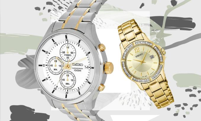Đồng hồ nam - nữ Seiko tiêu chuẩn Nhật Bản,nhập khẩu chính hãng giảm đến 29%.