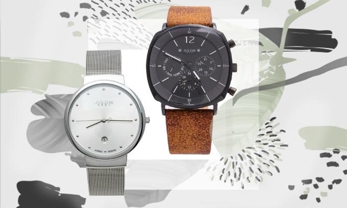Đồng hồ Julius nam thời trang, trẻ trung phù hợp với chàng trai cá tính. Sản phẩm cam kết bảo hành chính hãng trong 12 tháng.