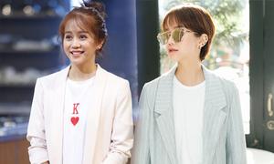 Tình mới Kiều Minh Tuấn thích mặc phong cách menswear