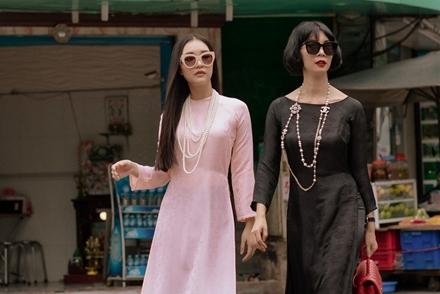 """Xuân Lan cùng """"nàng thơ xứ Huế"""" hóa thiếu nữ Sài Gòn xưa"""