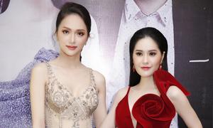 Hương Giang mặc váy xuyên thấu dự event